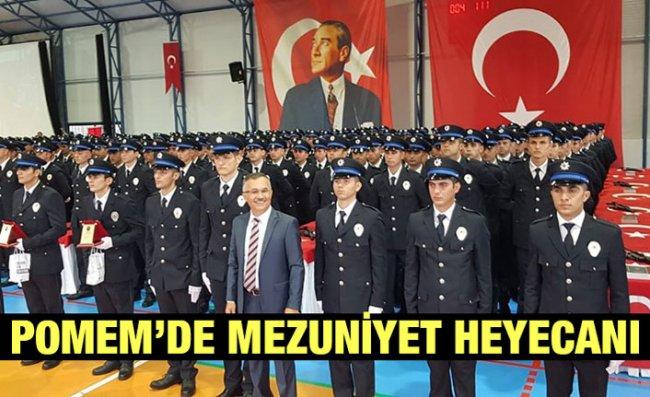 Rize'de 551 Polis Adayı Mezun Oldu