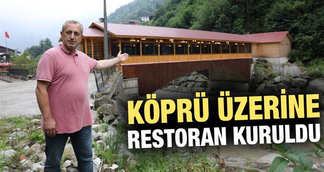 Köprü Üzerindeki Restorandan Ormana Geçiş