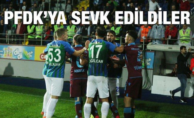 Çaykur Rizespor ile Trabzonspor PFDK'ya Sevk Edildi