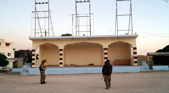 Teröristlerin Eğitim Kampı Ortaya Çıkarıldı