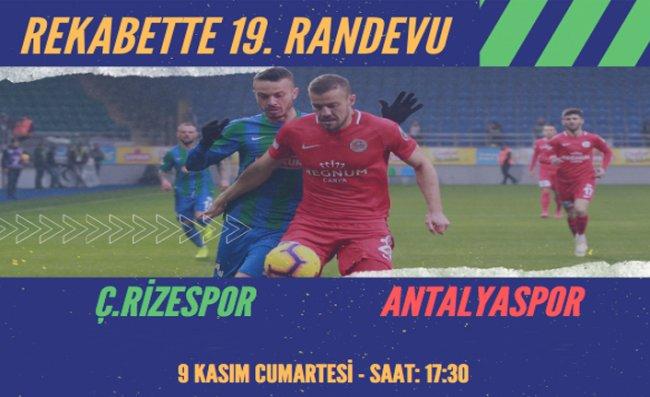 Antalyaspor ile 19. Randevu