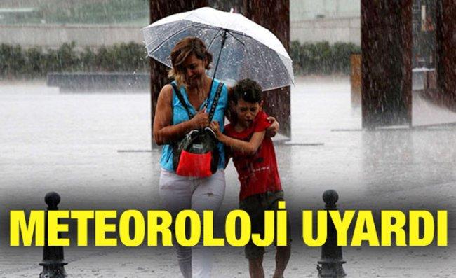 Rize ve Doğu Karadeniz Kıyıları İçin Yağış Uyarısı
