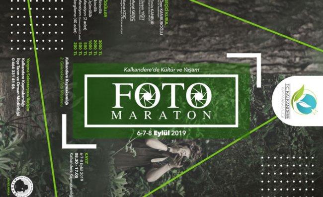 Kalkandere'de 2'nci Foto Maraton Heyecanı