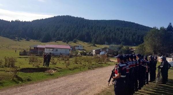 Yaylalardaki Kaçak Yapılar Yıkıldı
