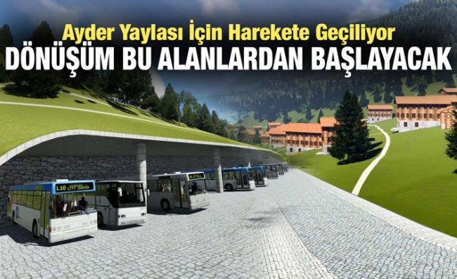 Ayder'de Dönüşüm Otel ve Otoparkla Başlıyor