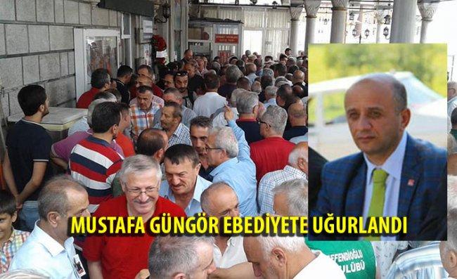 Mustafa Güngör Son Yolculuğuna Uğurlandı