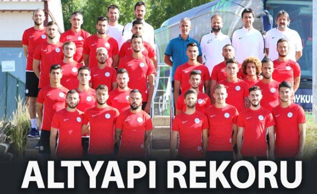 Altyapıdan 12 Futbolcu Kamp Kadrosunda Yer Alıyor