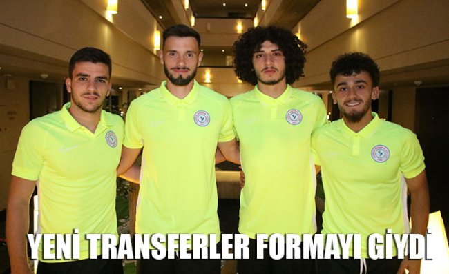 Yeni Transferler Kampa Katıldı