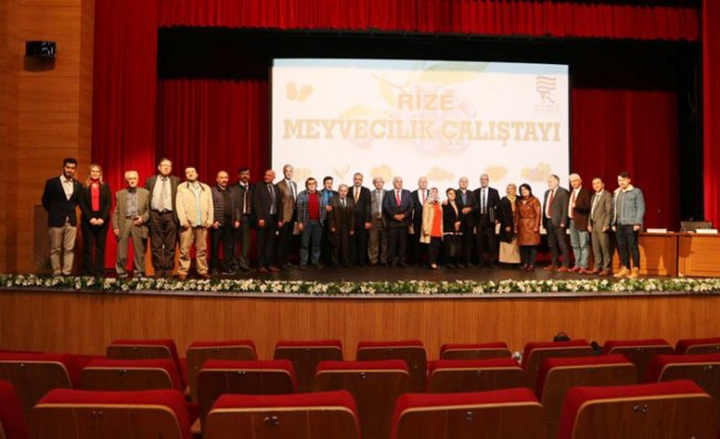 Rize'de Meyvecilik Çalıştayı Yapıldı