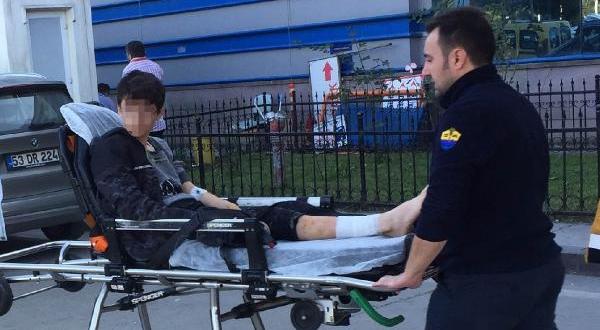 Rottweiler'ın Saldırdığı Öğrenci Yaralandı