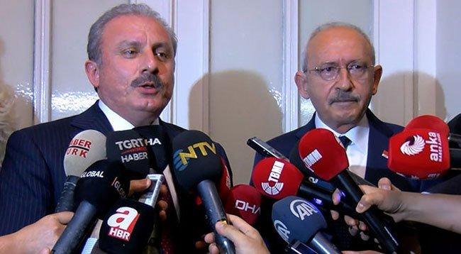 Şentop ile Kılıçdaroğlu Bir Araya Geldi