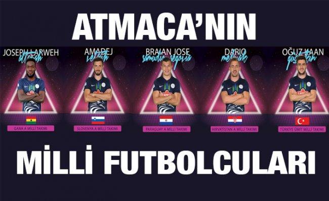 Çaykur Rizespor'da 5 Futbolcuya Milli Davet