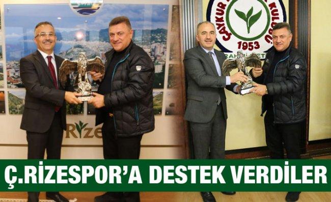 Çaykur Rizespor Yönetiminden Ziyaretler