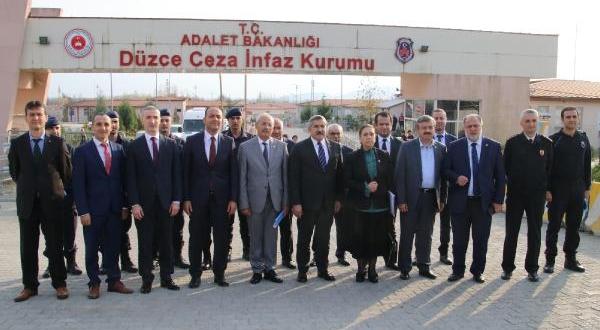 TBMM Komisyonu, Düzce Cezaevi'ni İnceledi