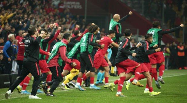 Türkiye, EURO 2020'ye Gitmeye Hak Kazandı