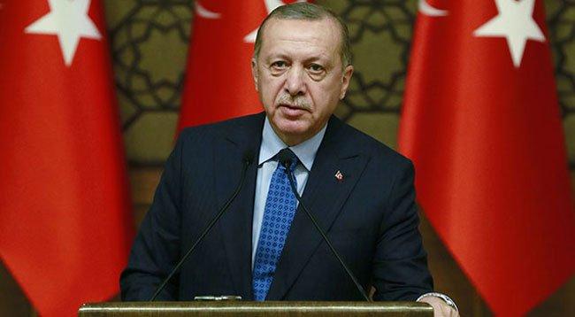 Erdoğan, KKTC'nin Kuruluş Yıl Dönümünü Kutladı