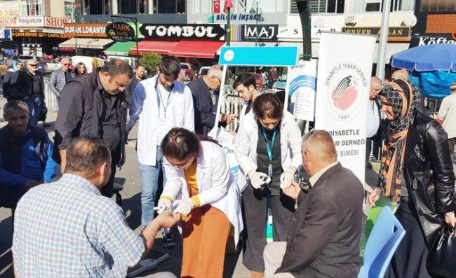 Rize'de 'Dünya Diyabet Günü' Etkinlikleri