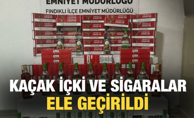 791 Adet Kaçak Sigara Ele Geçirildi