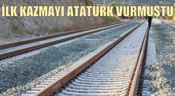 Yenilenen Demiryolu Hattı Açılıyor