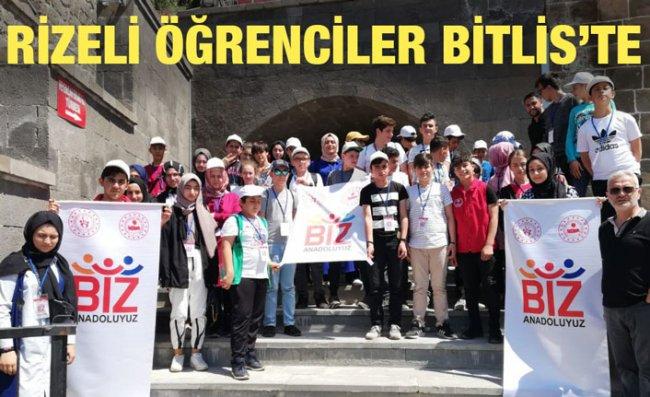 Rizeli Öğrenciler Bitlis'te Kültürel Gezi Yaptı
