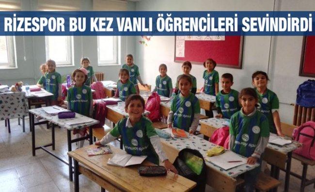 Okul-Kulüp Projesi Van'da