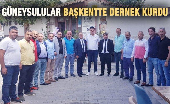 Ankara'da Yaşayan Güneysulular Dernek Kurdu