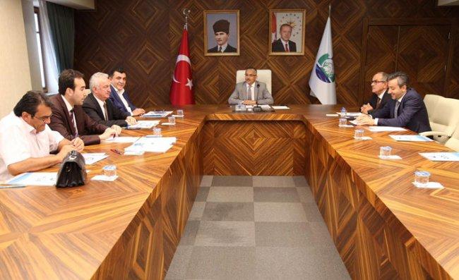 Rize OSB Eylül Ayı Yönetim Kurulu Toplantısı Yapıldı