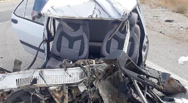 Trafik Kazasında Sürücü Yaralandı, Eşi Öldü
