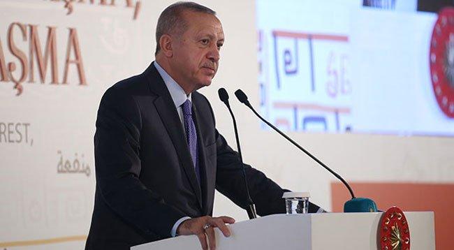 Erdoğan: İslam'dan Soğutmaya Çalışıyorlar