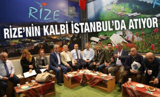 Başkan Metin, İstanbul'da Ziyaretçileri Ağırladı