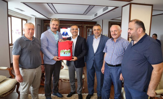 RİDEF'ten Vali Çeber'e Ziyaret