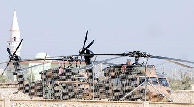 Zırhlı Araç ve Helikopter Hareketliliği