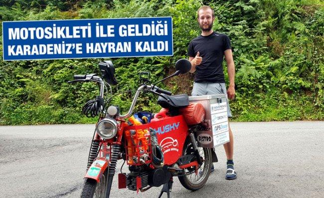 Çekyalı Genç Karadeniz'e ve İnsanlarına Hayran Kaldı