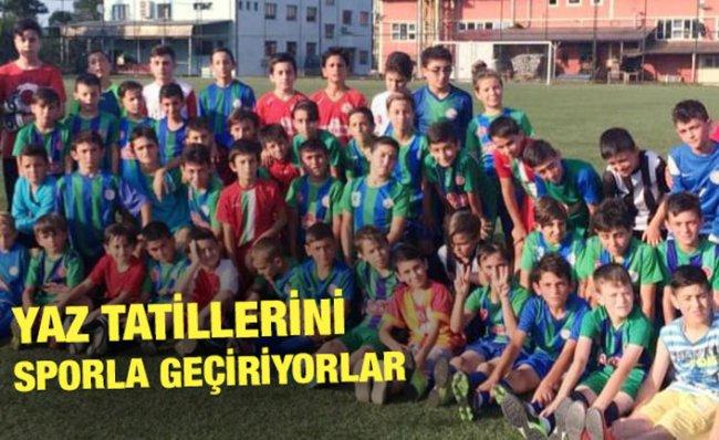 Çaykurspor'un Yaz Spor Okuluna Yoğun İlgi