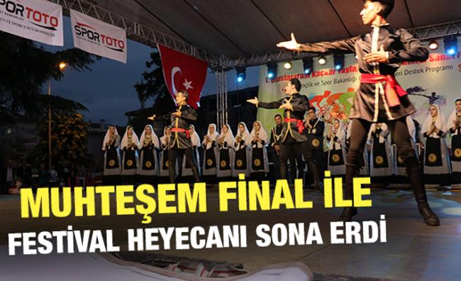 Ardeşen'de Kültür ve Sanat Festivalinin Finali Yapıldı