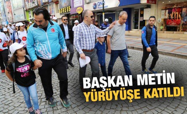 Avrupa Hareketlilik Haftası İçin Yürüyüş Düzenlendi