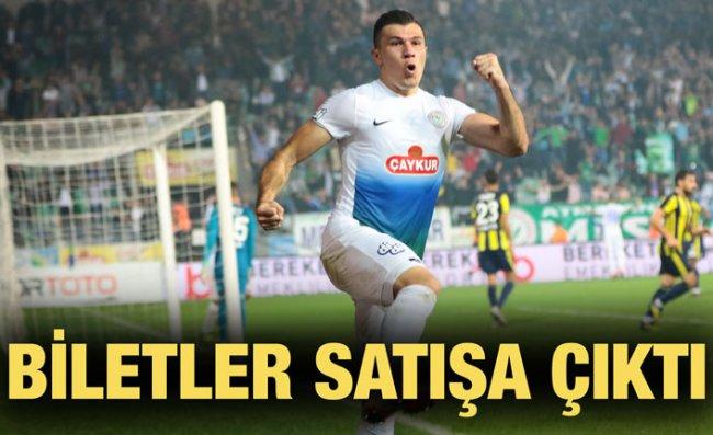 Fenerbahçe Maçının Biletleri Satışa Sunuldu