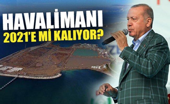 Erdoğan Rize-Artvin Havalimanı Hakkında Konuştu