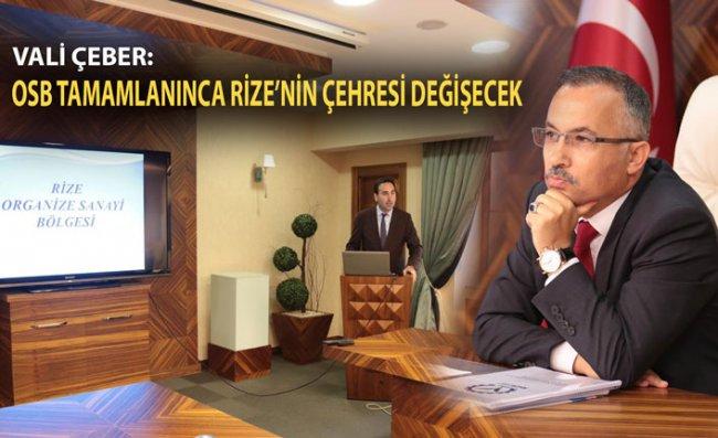 Rize'de OSB Müteşebbis Toplantısı Gerçekleştirildi