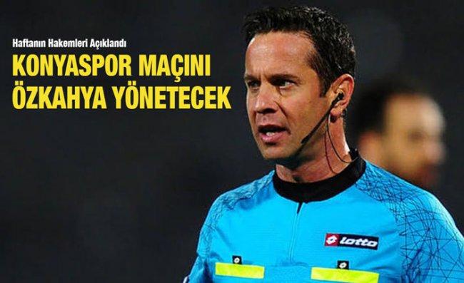Süper Lig'de 13'üncü Haftanın Hakemleri Belli Oldu