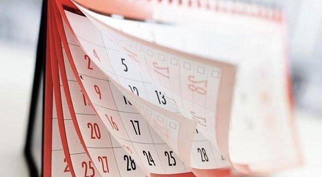 İşte 2020 Yılının Resmi Tatil Günleri