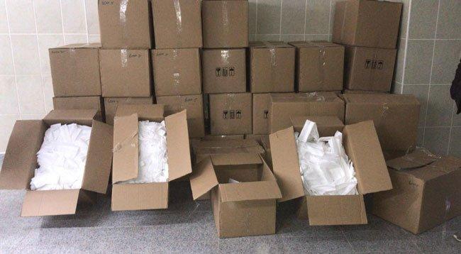 Kaçak Üretilen 90 Bin Maske Ele Geçirildi