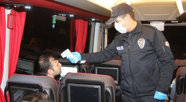 Şehirlerarası Yolda Koranavirüs Önlemleri