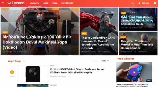 Teknolojiye Dair Güncel Haberlerin Samimiyetle Buluştuğu Nokta: Webtekno