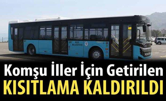 Rize'den Trabzon ve Artvin'e Yolcu Taşımacılığı Yeniden Başladı