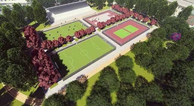 Trabzon'da Yapılan Millet Bahçesi Eylül Ayında Açılacak