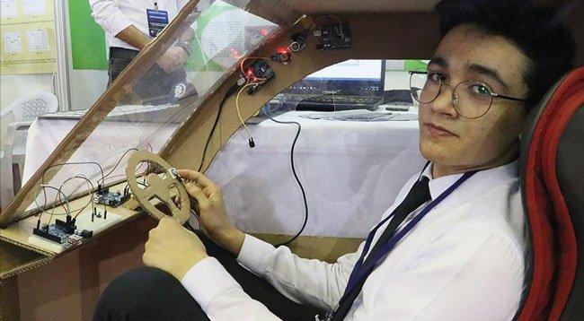 Liseliler Araçlar İçin Güvenlik Sistemleri Geliştirdi