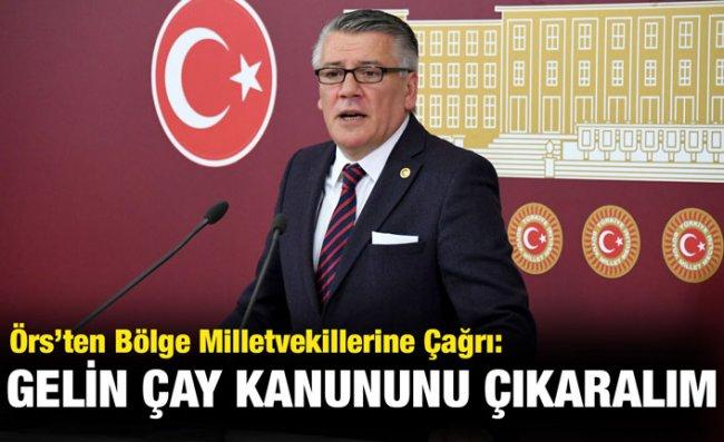 İYİ Parti'li Örs: ÇAYKUR Üreticiyi Özel Sektöre Mahkum Etti