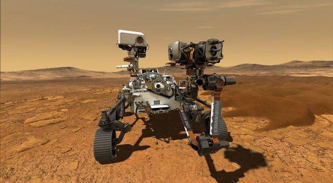 Mars 2020 Keşif Aracına 'Perseverance' İsmi Verildi