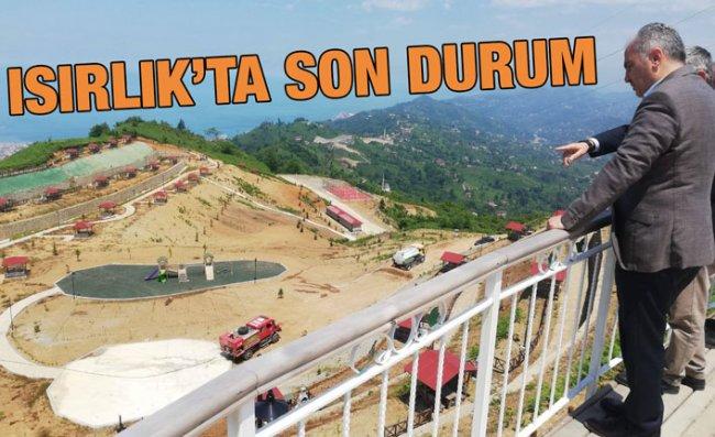 Isırlık Tabiat Parkı Tamamlanıyor
